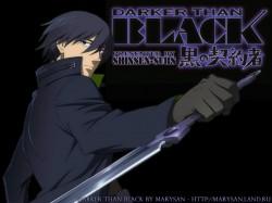 Постер Darker Than Black | Темнее Черного