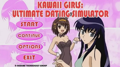 Kawaii girls ultimate dating simulator game