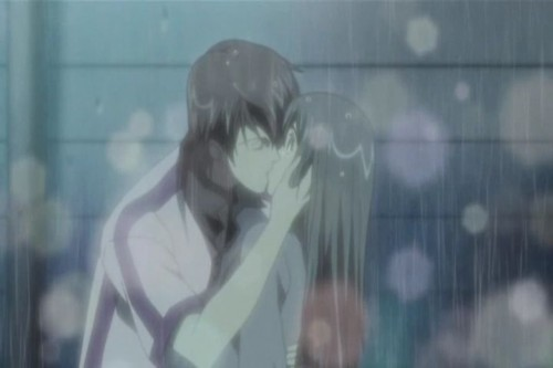Рис. 5033, добавлено 2.3.2012. Похожие темы: аниме озорной поцелуй